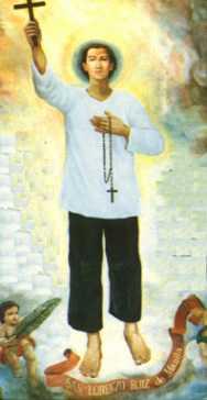 Święty Wawrzyniec Ruiz