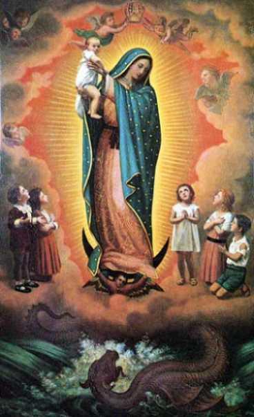 Matka Boża z Guadalupe - Opiekunka nienarodzonych